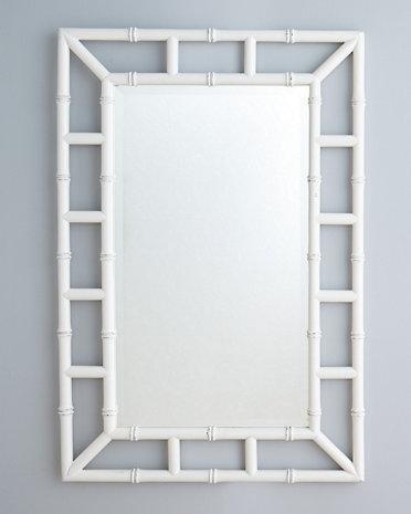 Bamboo Bathroom Mirror