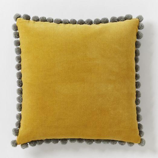 jay street ashti yellow pillow cover