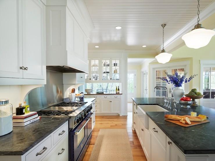 soapstone kitchen counters hanging utensils in countertops traditional benjamin moore