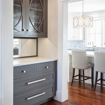 polished nickel kitchen faucet runner mats bar area design ideas