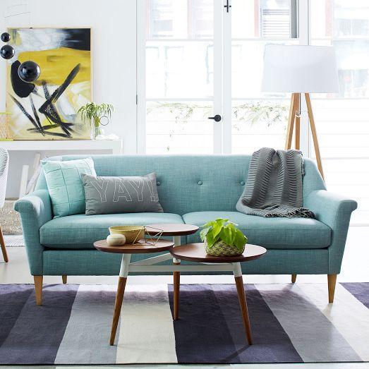 Finn Turquoise Sofa
