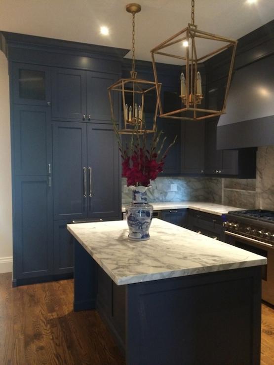 Navy Kitchens  Contemporary  kitchen  Meredith Heron Design