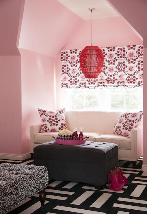 Black and White Carpet Tiles  Contemporary  girls room