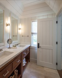 Craftsman Style Bathroom - Cottage - bathroom - Laura Hay ...
