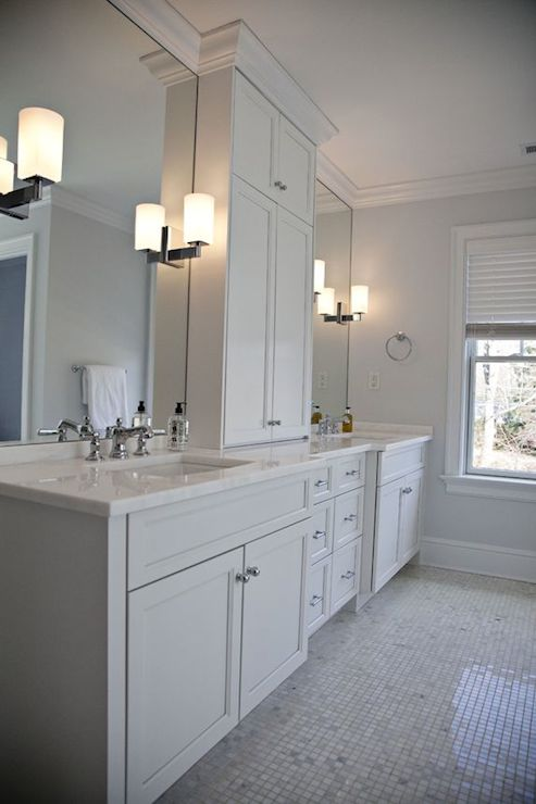 Bathroom Vanity Mirrors His And Her Bathroom Vanities Design Ideas