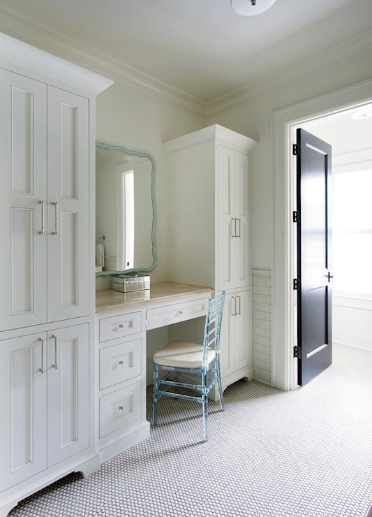 Built In Dressing Table Design Ideas