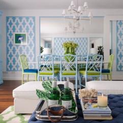Gold Glass Sofa Table La Navy Ottoman - Contemporary Living Room Maria Barros