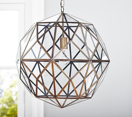 Caged Pendant Light