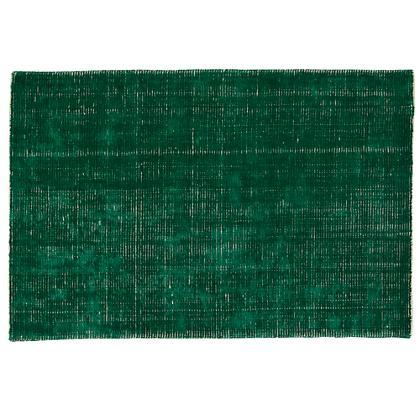 Capel Rugs Junction Dark Green Wool Rug