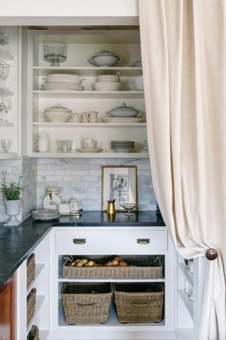 Walk In Pantry Ideas  Cottage  kitchen  Crisp Architects