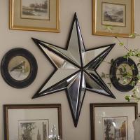 Decorative Wall Antique Star Mirror