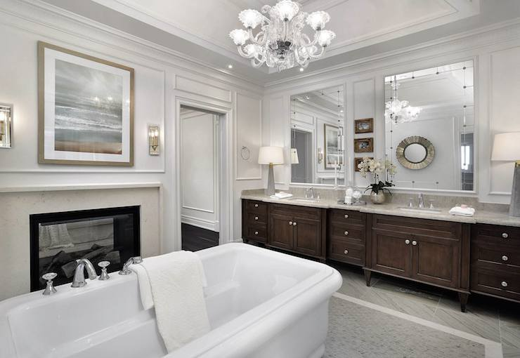 See Through Fireplace Design Ideas
