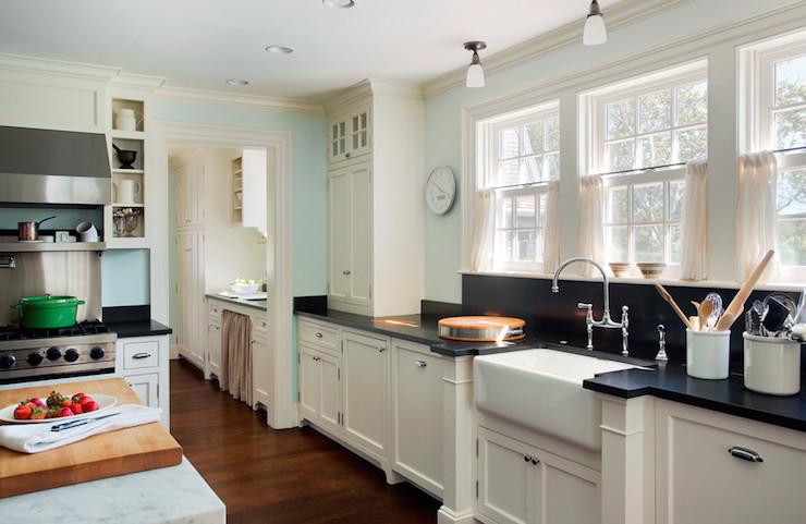 Ivory Kitchen Cabinets  Country  kitchen  Benjamin