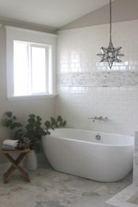 Mosaic marble Accent Tiles - Transitional - bathroom ...