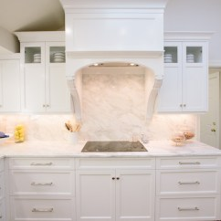 Faucet Kitchen Maple Cabinets Hood Corbels Design Ideas