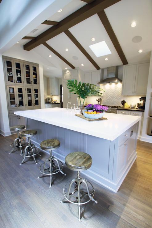 Vaulted Ceiling Kitchen  Transitional  kitchen
