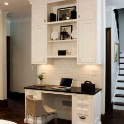 Kitchen Desk Tables Cheap Ideas Transitional Crown Point Cabinetry