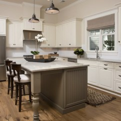 Beadboard Kitchen Cabinets Ceramic Top Island With Trim - Country Palmetto ...