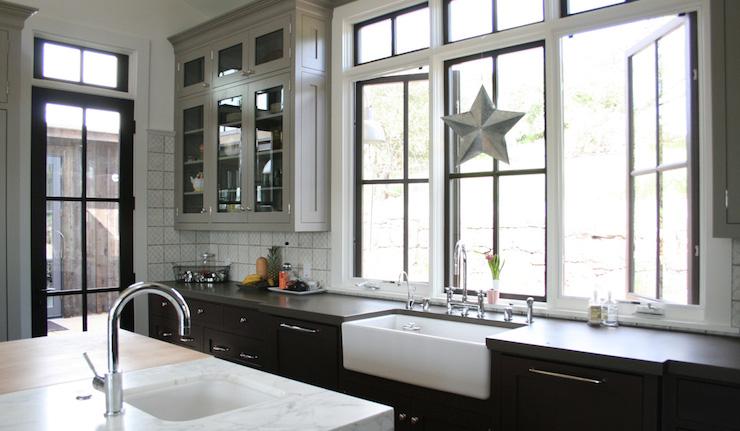 2 Tone Kitchen Cabinets  Contemporary  kitchen  Castor Architecture