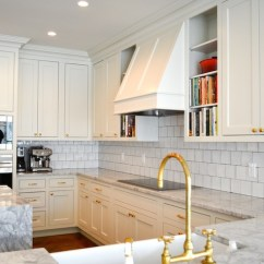 Gold Kitchen Tall Bags Size Faucet Transitional Amanda Orr Architects