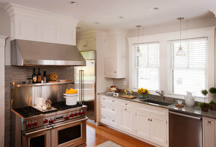 kitchen stand alone cabinet upper cabinets stainless steel - contemporary sotheby ...