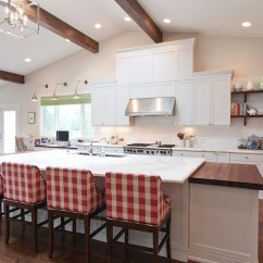White Kitchen Faucet Pull Down Cabinet Installation Tools And Taupe - Cottage Hgtv