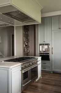 Hood Over Kitchen Island - Transitional - kitchen ...