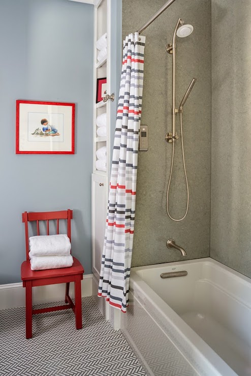 Nautical Bathrooms  Cottage  bathroom  Benjamin Moore