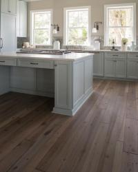 Reclaimed Wood Floors - Transitional - kitchen - Benjamin ...