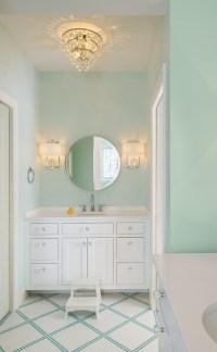 Mint Green Bathrooms - Transitional - bathroom - Moore ...