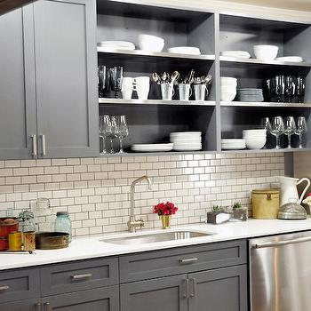 Brunelleschi Construction  kitchens  gray shaker