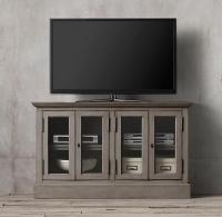 Gray Media Console - Home Ideas
