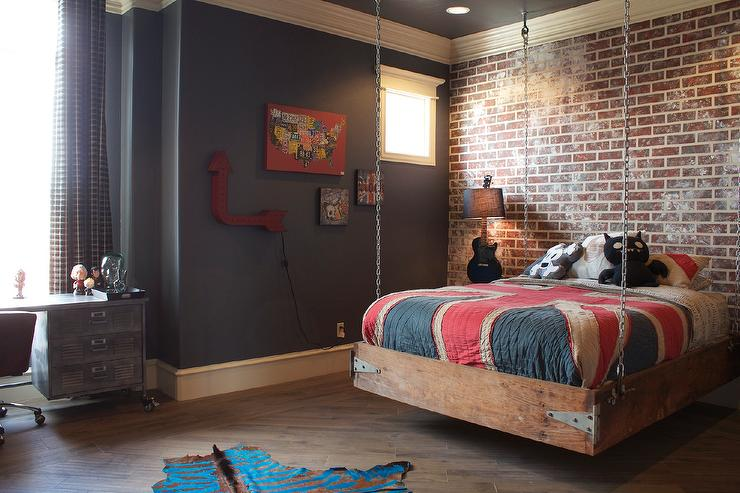 Hanging Kids Bed Eclectic Boys Room Bella Vici