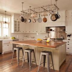 Small Kitchen Island With Stools Lighting Ideas Interior Design Inspiration Photos By Tim Barber.