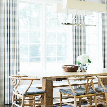 Linear Dining Room Chandelier Design Ideas