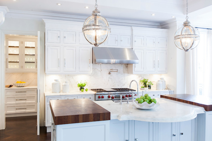 Victorian Hotel Pendant  Transitional  kitchen  Fleming