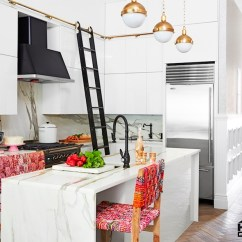 Kitchen Ladder Coloured Small Appliances Ideas Transitional Hgtv