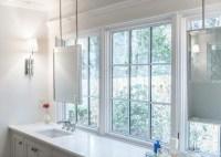 Mirror In Front Of Window Design Ideas