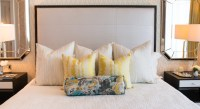 Mirror Over Nightstand - Contemporary - bedroom - Shannon ...