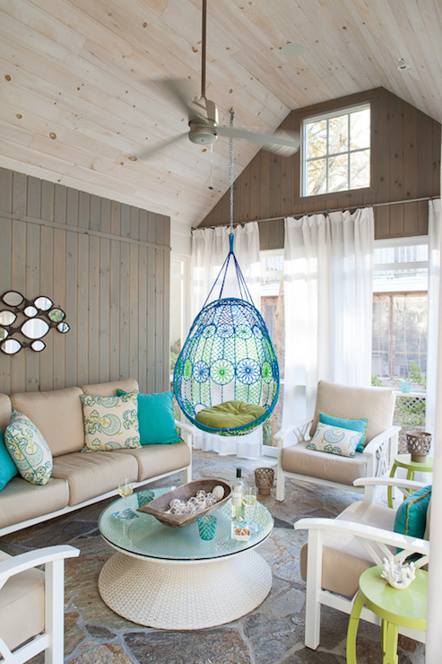 wood beach chairs chrome and leather with arms modern sunroom vaulted glass ceiling - deck/patio