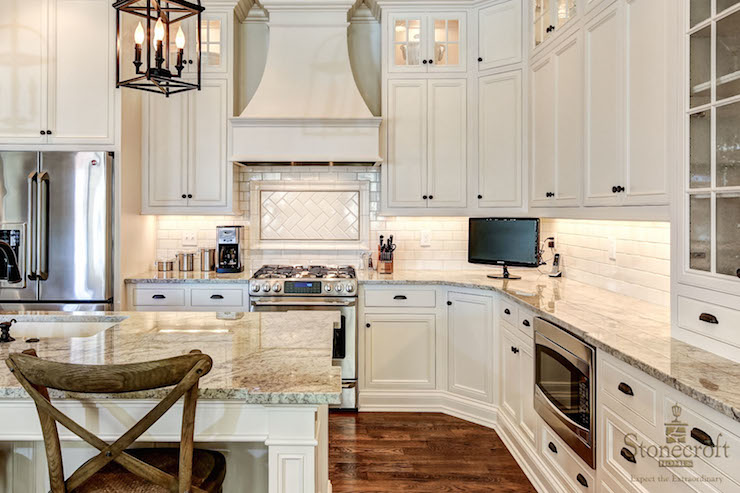 Ivory Kitchen Cabinets  Transitional  kitchen