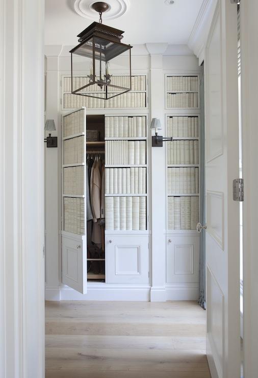 Hidden Closet Doors Design Ideas