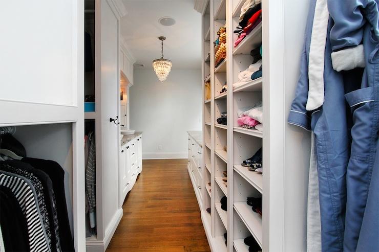Sink Vanity in Closet  Transitional  closet