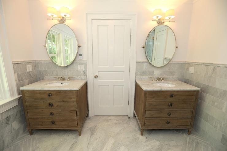 maison single vanity sink - transitional - bathroom