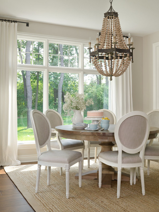 Gray French Dining Chairs Transitional Dining Room Sherwin Williams Agreeable Gray Bria