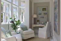 Sunroom Office - Cottage - den/library/office - Urban ...
