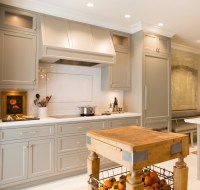 Kitchen Cabinets painted Gray