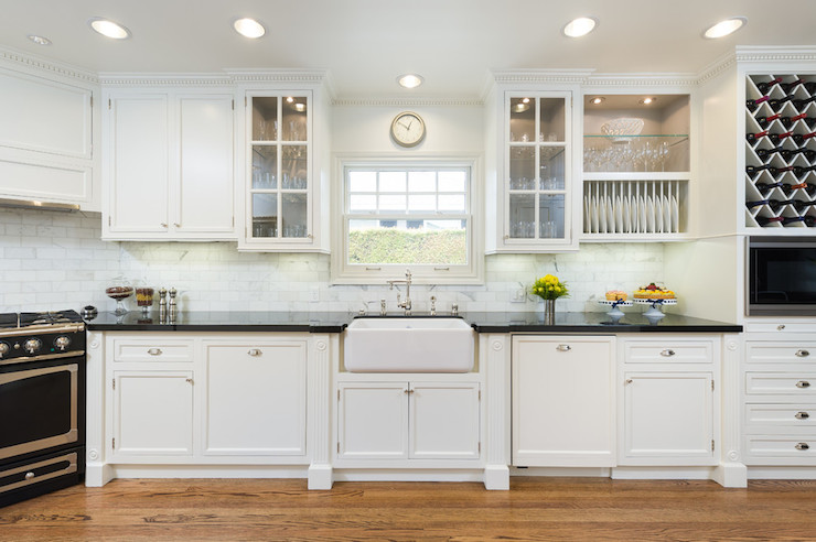 Stove In Corner Transitional Kitchen M Wright Design