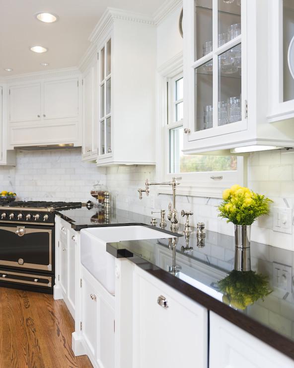 Corner Stove Ideas Transitional Kitchen M Wright Design