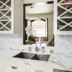 Over The Kitchen Sink Lighting Marble Counters Pass Through Ideas - Transitional M ...